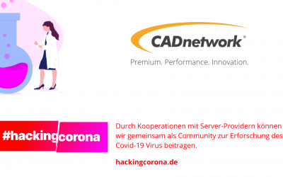 CADNetwork wird Teil der #HackingCorona Community