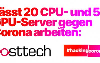 hosttech wird Teil der #HackingCorona Community